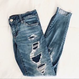 American Eagle Ripped Distressed Jeans